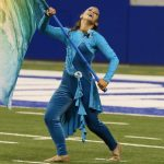 Jersey Surf performs Thursday, August 11, during the 2016 DCI World Championship Prelims presented by Earasers Musicians Earplugs at Lucas Oil Stadium in Indianapolis, IN. The corps finished in 26th place with a score of 71.988.